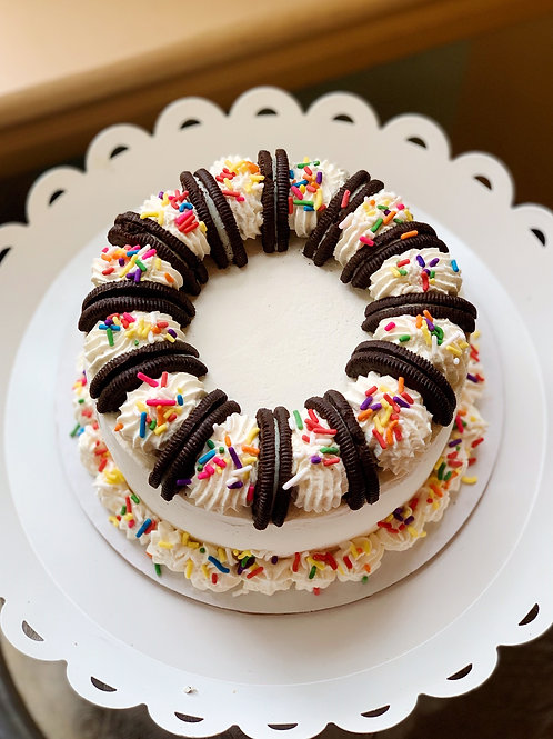 Ice Cream Cake - Small with brownie layer