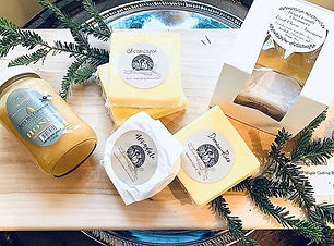 Local Cheese and Honey