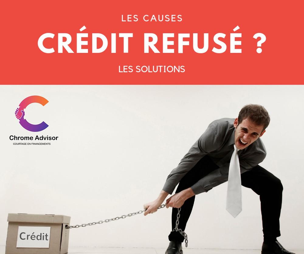 Refus de crédit : les raisons et recours possibles