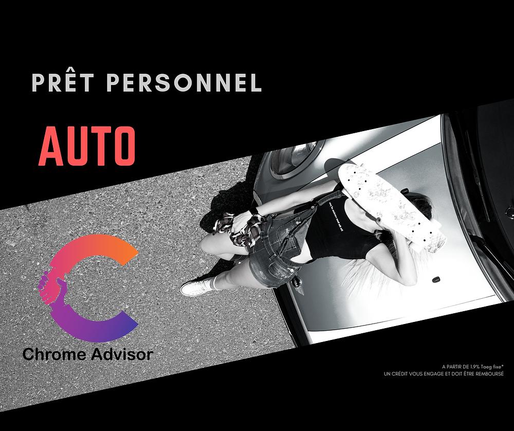Prêt auto Chrome Advisor ®