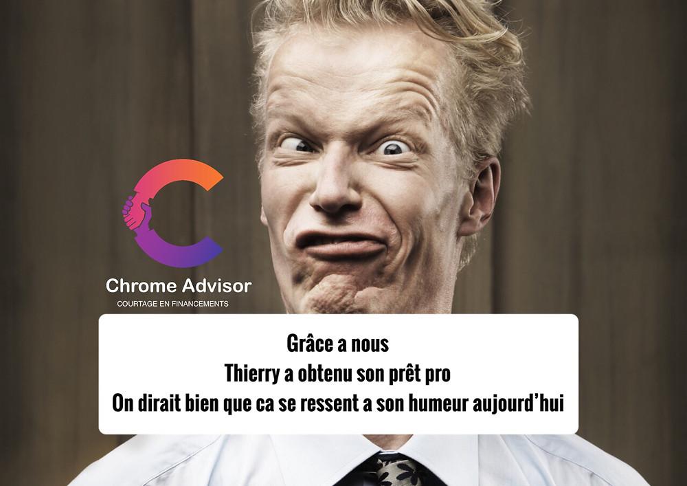Chrome Advisor prêts pro
