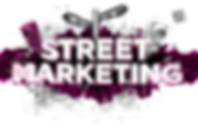 Street marketing ONE UP