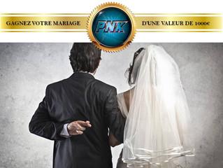 Remportez votre animation de mariage d'une valeur de 1000€