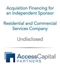 Fundless Sponsor Economics - Access Capi