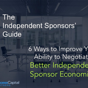 Negotiating Better Independent Sponsor Economics
