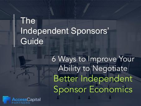 Negotiating Better Independent Sponsor Economics