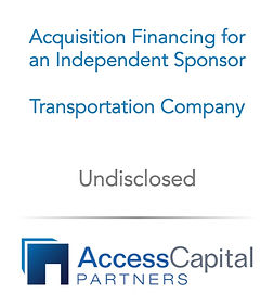 Fundless or Independent Sponsor Model -