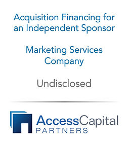 Independent Sponsor Fees and Compensatio