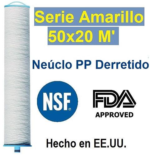 Cartucho El Poderos 50X20 Micras.