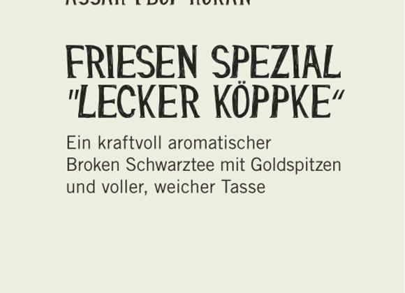 """Friesen Spezial """"Lecker Köppke""""  (100gr)"""