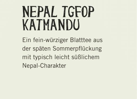 Nepal Katmandu  (100gr)