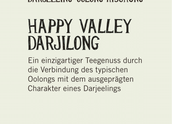 Happy Valley Darjlong (100gr)