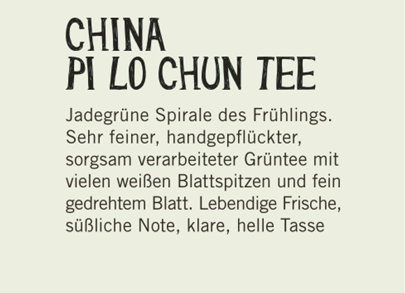 China Pi Lo Chun Tee (100gr.)