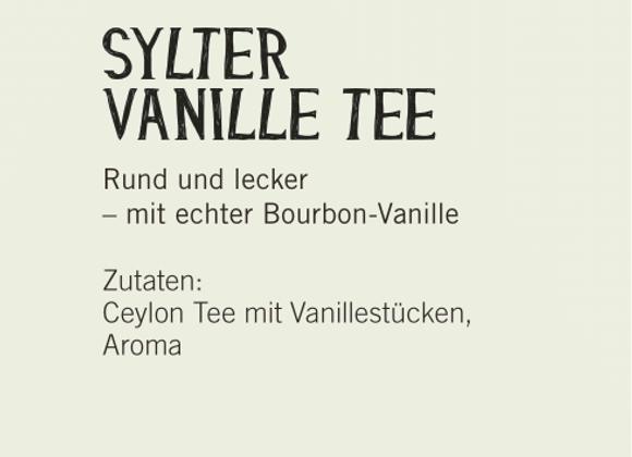 Sylter Vanille Tee (100gr)