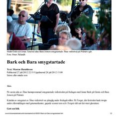 Bark och Bara smygstartade - Kristiansta