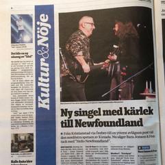 Kristianstadsbladet article