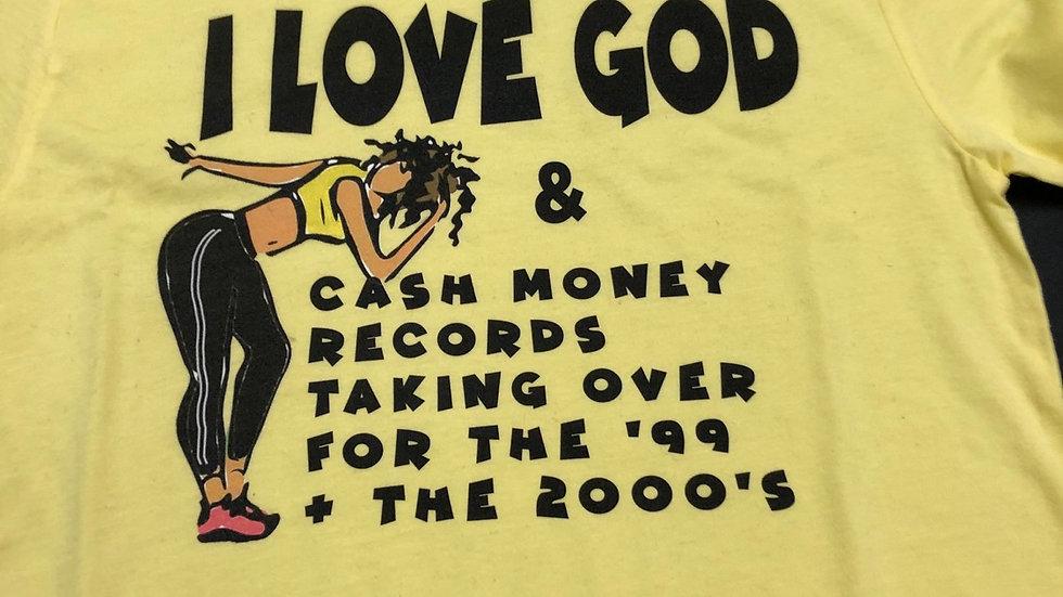 I LOVE GOD/Rap shirt
