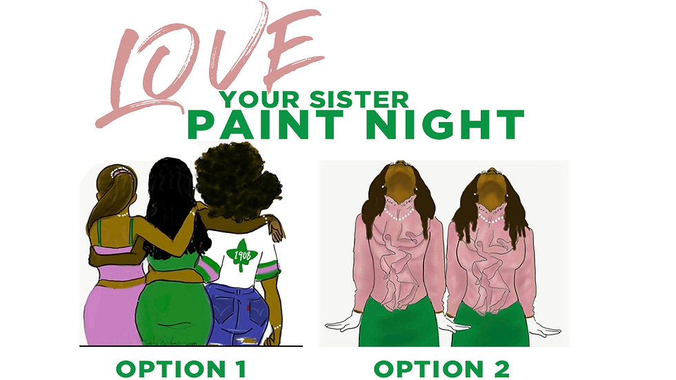 """""""Love Your Sister"""" Paint Party"""