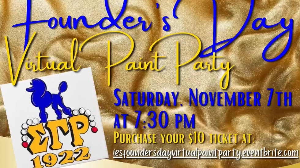 Founders Day Virtual Paint Party
