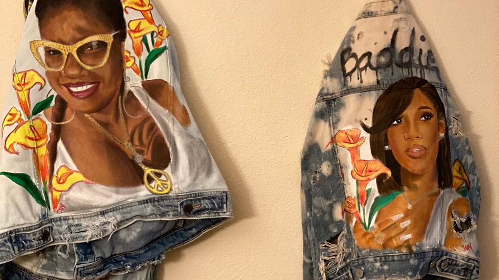 Custom hand painted jackets