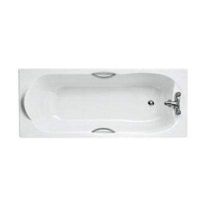 Water saving rectangular bath E769001