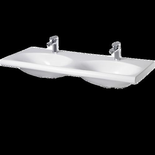 IDS Lavabo Double Blanc K072901