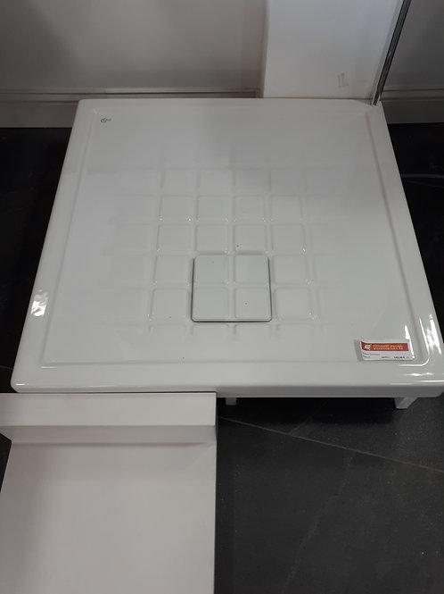 Receveur céramique blanc 80x80x19cm