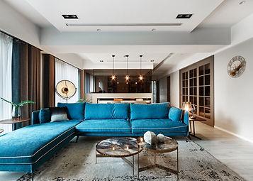 藍旗褐色 Huang residence