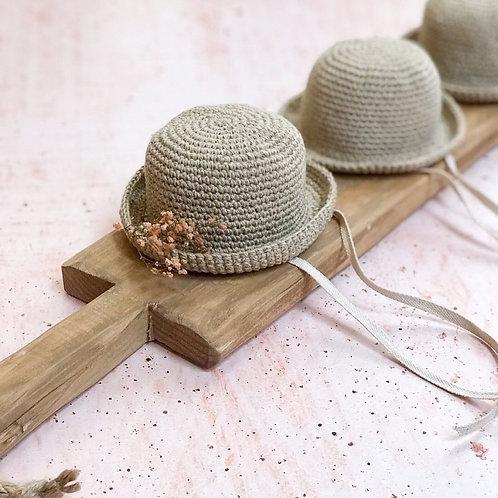 Sombrero de lino
