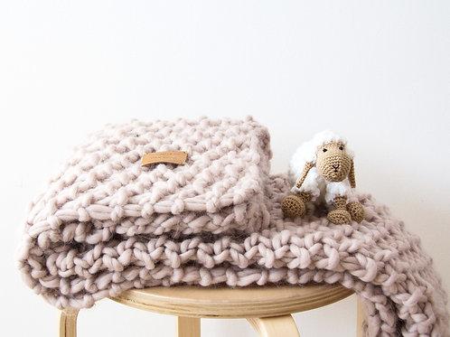 Manta gruesa / Chunky blanket