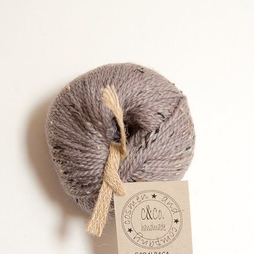 SCOTISH Wool color topo / taupe