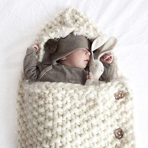 Saquito porta bebés