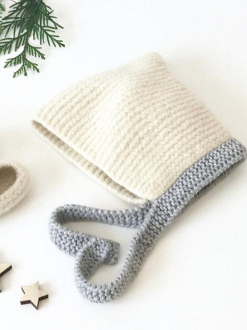 Capota de lana fieltrada / Felted wool cap