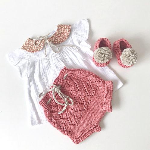 Pack braguita+cuello+slippers
