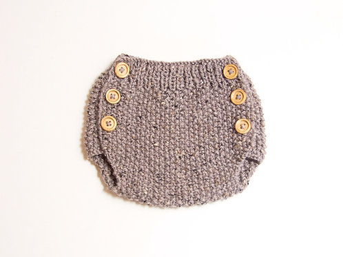Ranita de lana tweed / Tweed wool bloomer