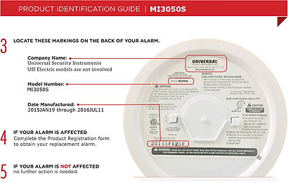 Smoke Detector Recall - Check Yours!