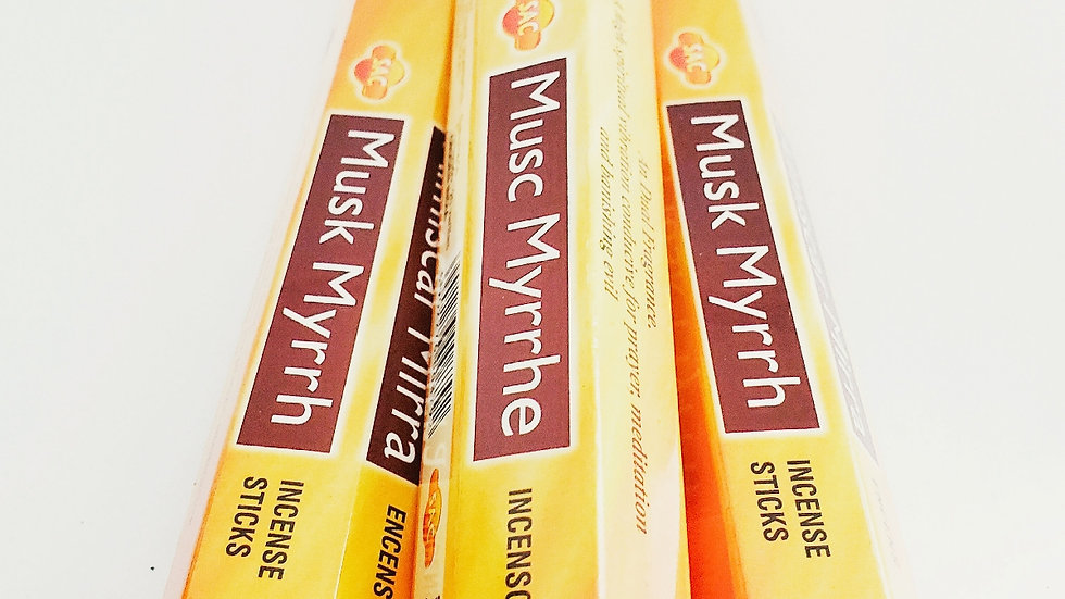 MUSK MYRRH INCENSE