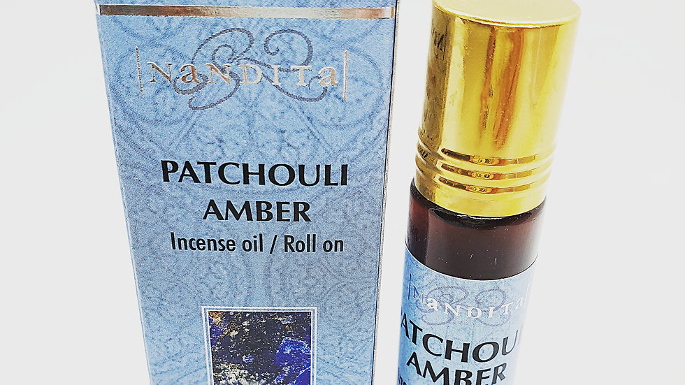PATCHOULI AMBER INCENSE OIL/ROLL ON