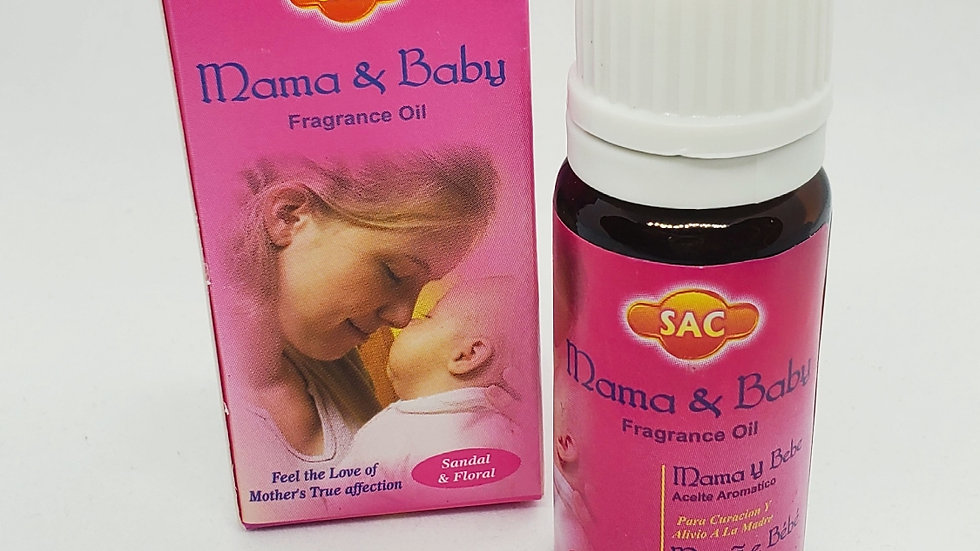 MAMA AND BABY AROMATHERAPY OIL
