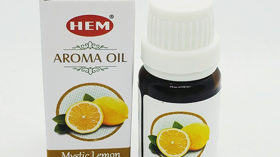 MYSTIC LEMON AROMATHERAPY OIL