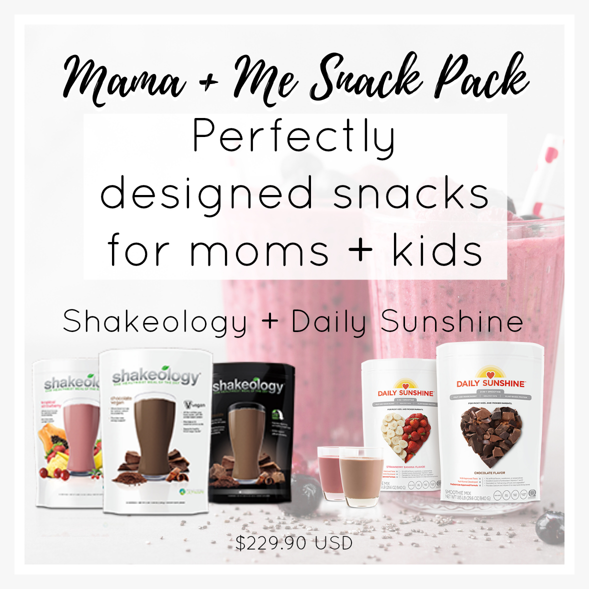 16. Mama + Me Snack Pack