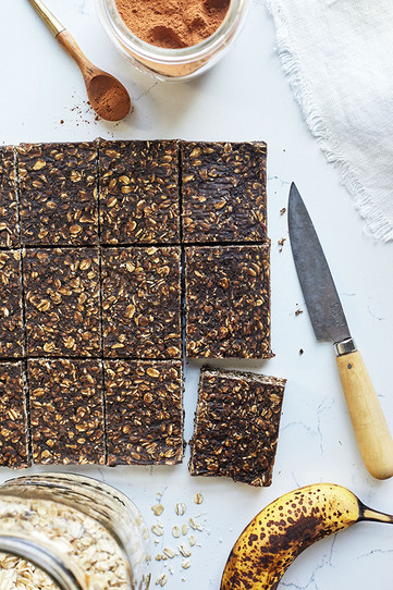 Healthy No Bake Oatmeal Protein Bars