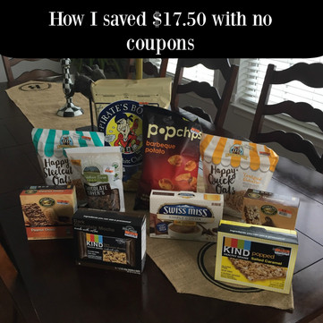 How To Save $17.50 On Groceries With No Coupons