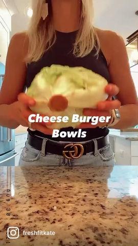 Cheeseburger Salad Bowl Recipe
