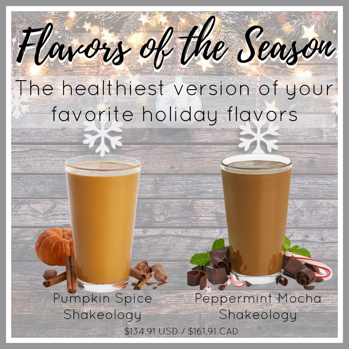 17. Flavors of the Season