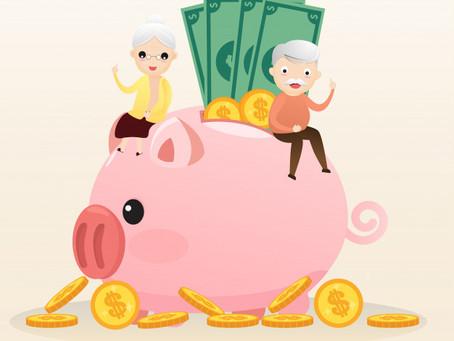 Mayor edad de jubilación y educación financiera.