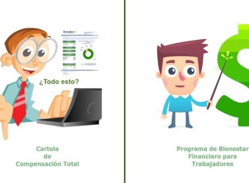Cartola de Compensación Total y Programa de Bienestar Financiero.
