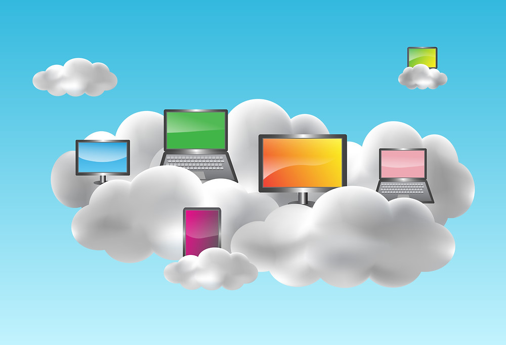 Cloud computing desktops on clouds.jpg