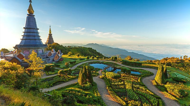 King & Queen Pagodas