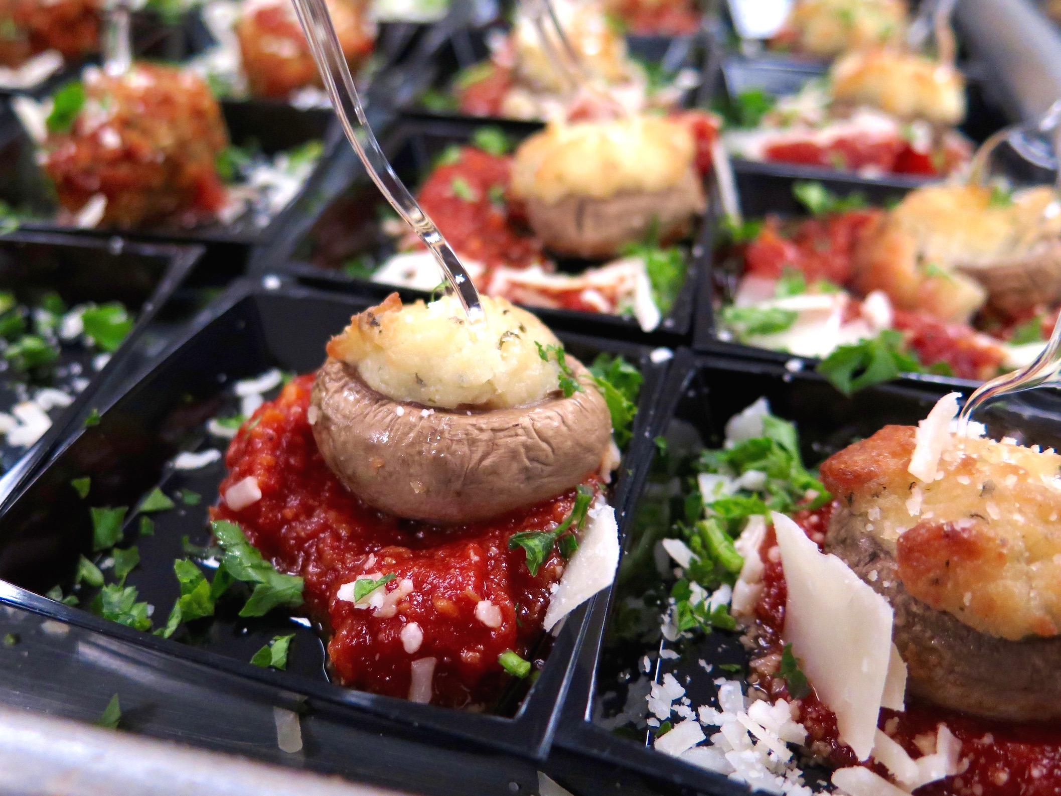 Ricotta Stuffed Mushrooms